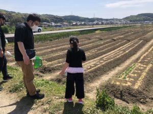 篠栗町の畑